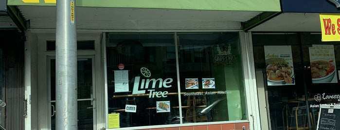 Lime Tree Southeast Asian Kitchen is one of s.f. food.