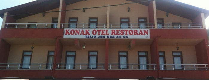 Konak Otel is one of Lugares favoritos de Salih.