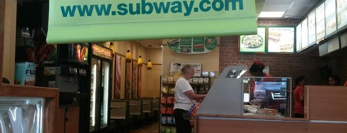 SUBWAY is one of Eateries.
