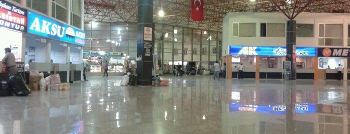 Kahramanmaraş Şehirler Arası Otobüs Terminali is one of Agk : понравившиеся места.