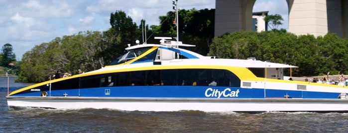 CityCat is one of Brisbane.