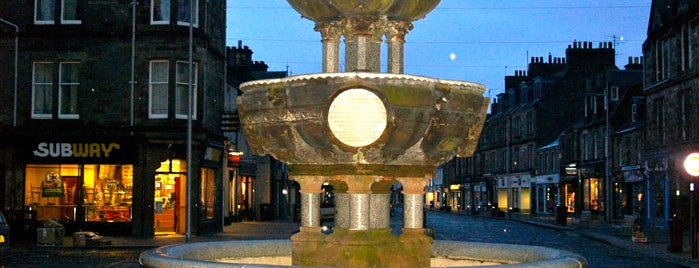 The Fountain is one of St Andrews.