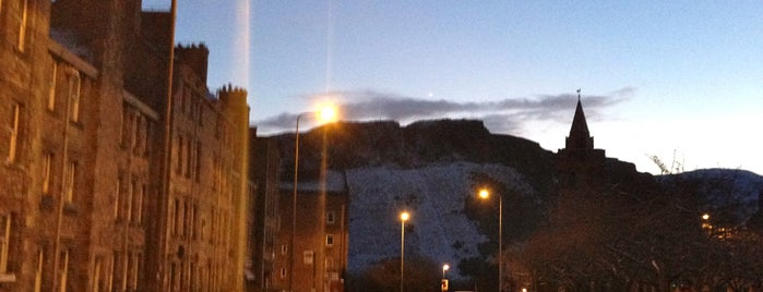Arthur's Seat is one of Edinburgh.
