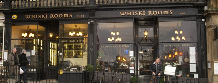 Whiski Rooms is one of The Dog's Bollocks' Auld Reekie (Edinburgh).