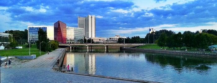 """Мост через """"Комсомольское Озеро"""" is one of Lugares favoritos de Антон."""