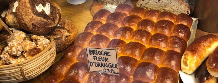 Mamiche is one of Les 15 meilleures boulangeries de Paris L'Express.
