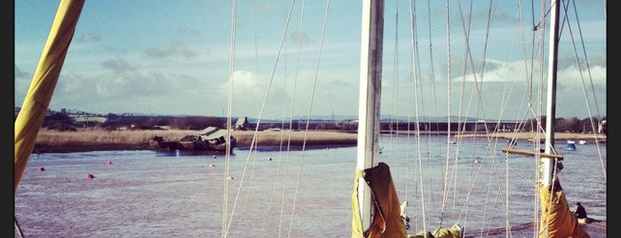 Topsham Quay is one of Europe Favourites.