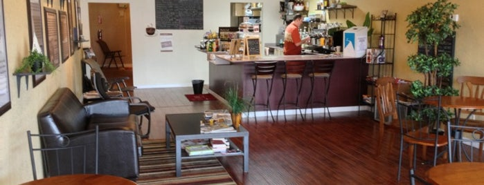 Coffee EVI is one of Independent Cafes and Coffee Shops in Tampa Bay.