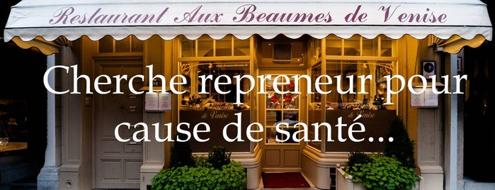 Aux Beaumes de Venise is one of Resto Pass 2012-2013.