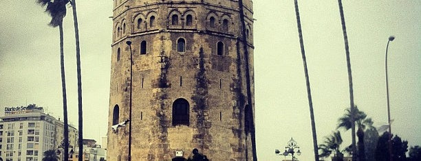 Torre del Oro is one of Seville.