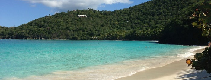 Hawksnest Beach is one of St John.