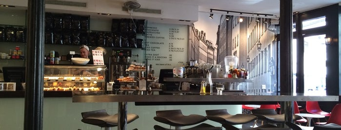 FIKA Espresso Bar is one of The Financial District List by Urban Compass.