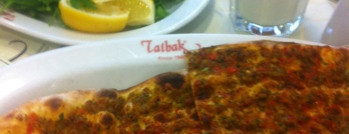 Tatbak is one of İstanbul Yeme&İçme Rehberi - 1.