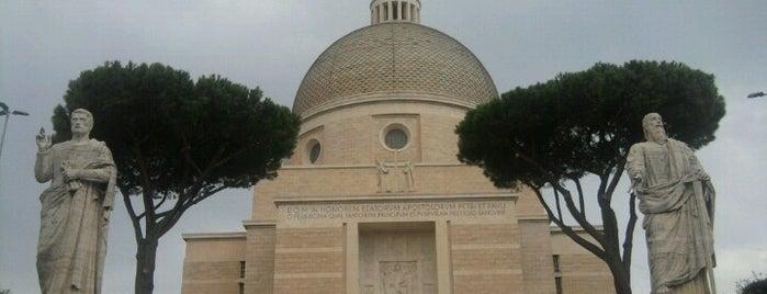Basilica SS. Pietro e Paolo is one of Roma.