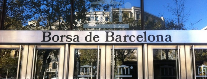 Borsa de Barcelona is one of Lieux qui ont plu à Marcos.