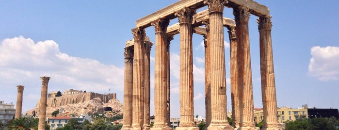 Temple of Olympian Zeus is one of Tempat yang Disimpan liz.