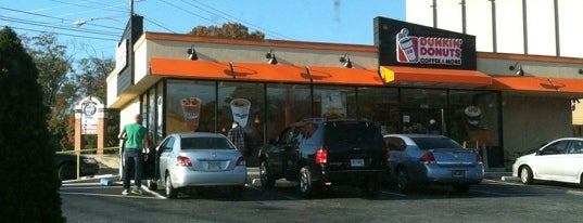 Dunkin' Donuts is one of Where, When & Who List-1!.