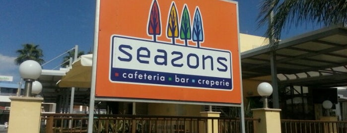 Seasons Café Restaurant & Cocktail Bar & American Grill is one of Cyprus.