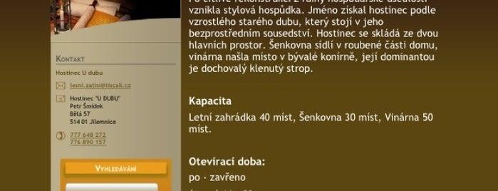 Hostinec U Dubu is one of Ano, šéfe!.