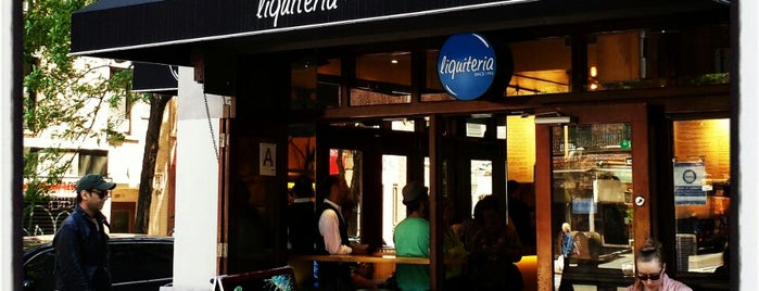 Liquiteria is one of East Village.