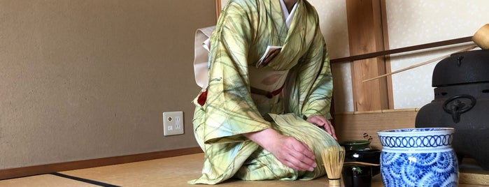 Camellia Tea Ceremony is one of Kyoto-Japan.