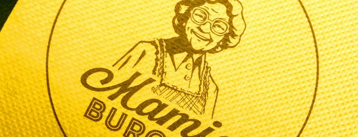 Mamie Burger Bonne Nouvelle is one of Locais curtidos por Esra.