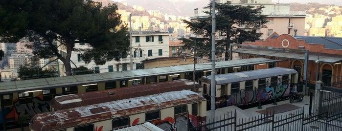 Ferrovia Genova Casella is one of Tra i Caruggi e il mare - Genova #4sqcities.