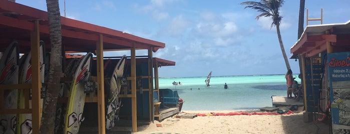 Bonaire Windsurf Place is one of Lugares favoritos de Johan.