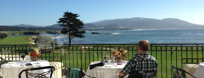 The Lodge at Pebble Beach is one of Cali Trip.