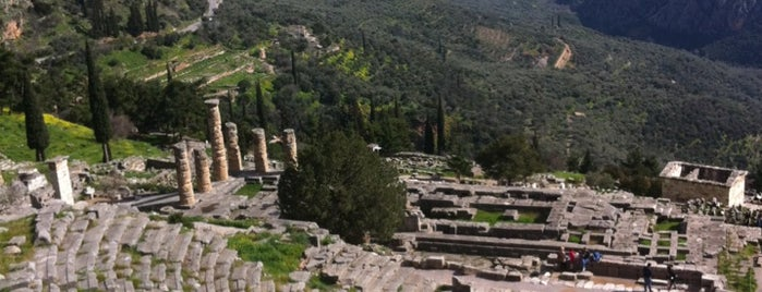 Archaeological Site of Delphi is one of Greece.