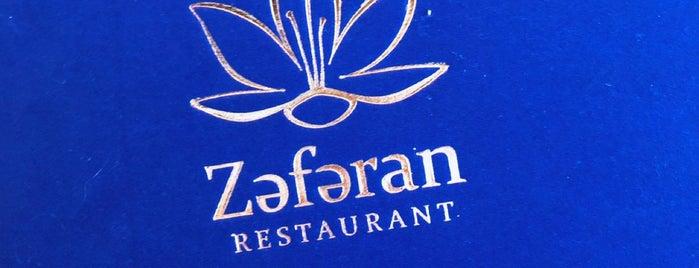 Zəfəran Restaurant is one of IST.