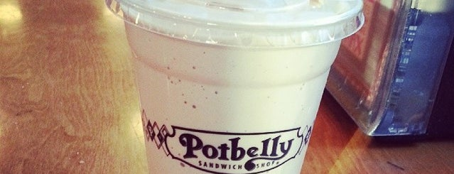 Potbelly Sandwich Shop is one of Lunch places by the new office.