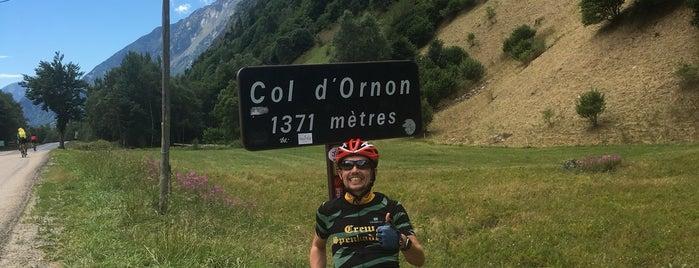 Col d'Ornon is one of Tempat yang Disimpan Urs.