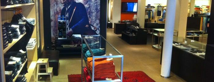 Boss Orange Store is one of Amsterdam.
