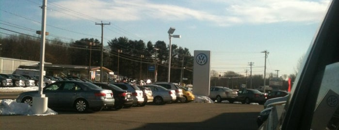 Volkswagen of Old Saybrook is one of Willさんのお気に入りスポット.