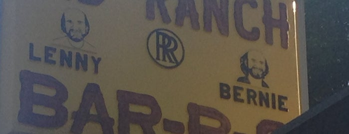 Rib Ranch BBQ is one of Old Los Angeles Restaurants Part 2.