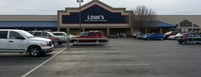 Lowe's Home Improvement is one of Doggy Spots.