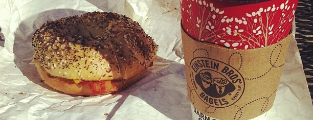 Einstein Bros Bagels is one of Chicago II.