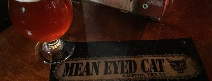 Mean Eyed Cat is one of SXSW.