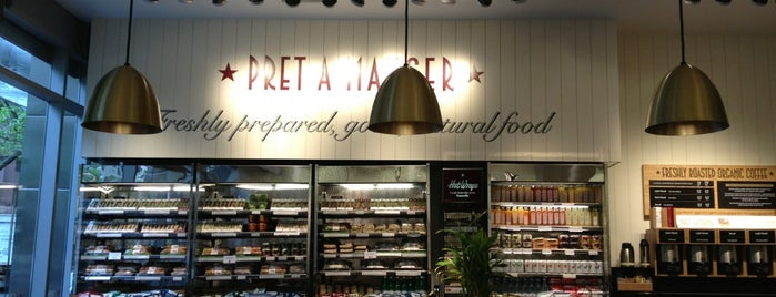 Pret A Manger is one of Lunch spots.