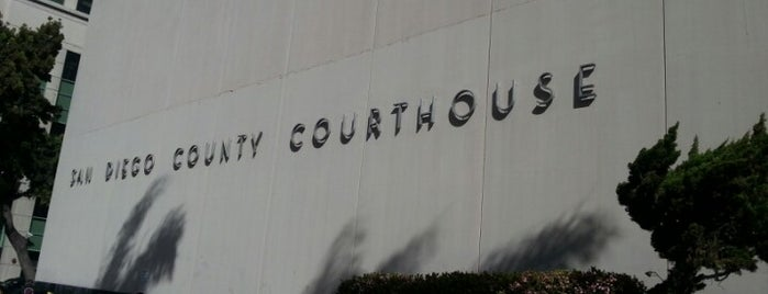 San Diego County Courthouse is one of Posti che sono piaciuti a John.
