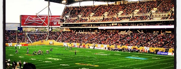 Investors Group Field is one of sports arenas and stadiums.