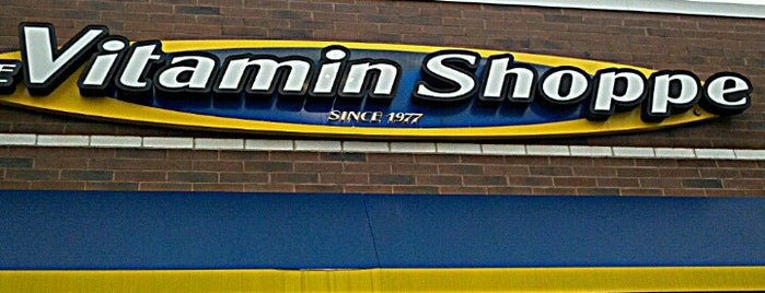 The Vitamin Shoppe is one of Favorite Places.