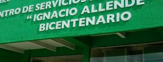 """Centro de Servicios Administrativos """"Ignacio Allende"""" - Delegación de Transporte is one of สถานที่ที่ René ถูกใจ."""