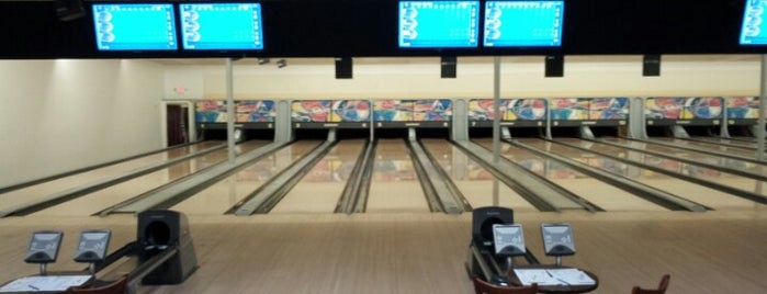 Eastbury Bowling Center is one of pinball 7.