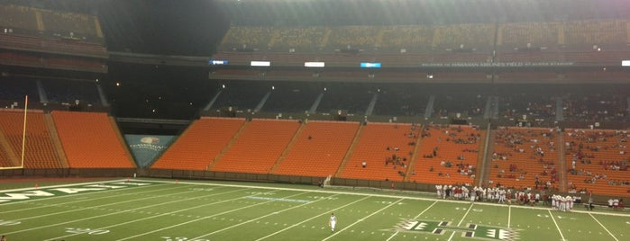 Aloha Stadium is one of Football Stadiums~2014....