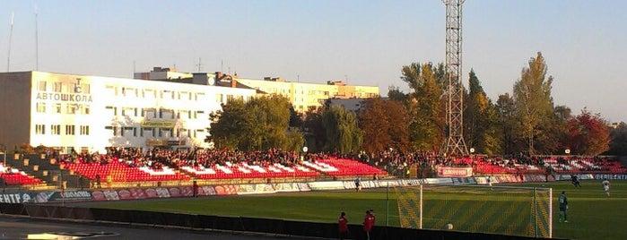 """Стадіон """"Авангард"""" / Avangard stadium is one of Orte, die Kostya gefallen."""
