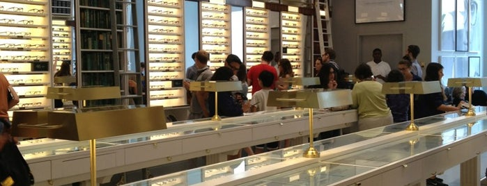 Warby Parker is one of NYC.