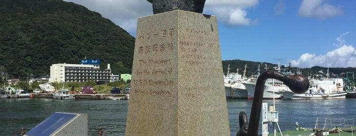 ペリー艦隊来航記念碑 is one of Lugares favoritos de 高井.