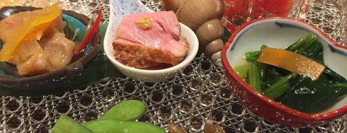 創作割烹 旬菜 真柏 八丁堀店 is one of Posti che sono piaciuti a 高井.
